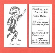 Sunderland Fred Hall 376
